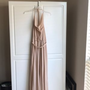 Nouvelle  AMSALE Poly Chiffon Dress - NEW